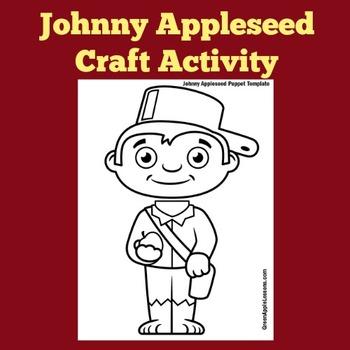 Johnny Appleseed Activity  | Johnny Appleseed Craft | John