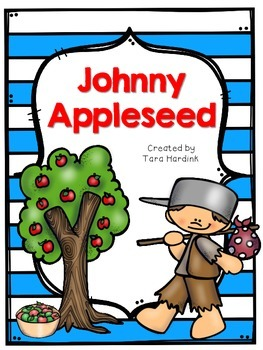 Johnny Appleseed Printable Activities