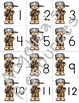 Johnny Appleseed: Number Cards 1-20