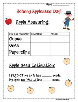 Johnny Appleseed Apple Day!