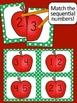 Johnny Appleseed Math - Matching Game {Alphabet Matching,