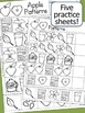 Johnny Appleseed Math - Patterns & Pocket Chart Pieces