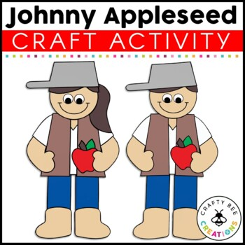 Johnny Appleseed Cut and Paste