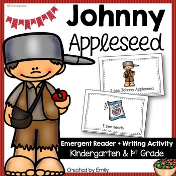 Apples / Johnny Appleseed Book and Writing Activity