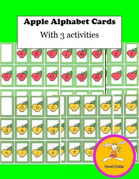 Johnny Appleseed - Game /Upper and Lower Case Alphabet Car
