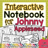 Johnny Appleseed Interactive Notebook Activities (Cross- C