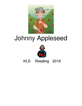 Johnny Appleseed - John Chapman picture supported text les