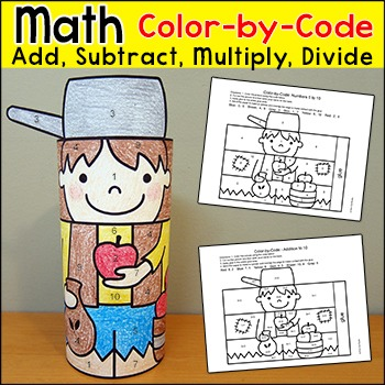 Johnny Appleseed Math Activity