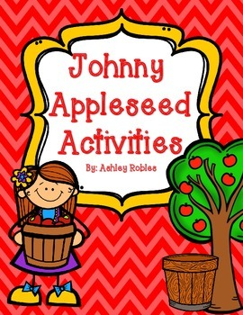 Johnny Appleseed Math and Literacy Centers and Activities