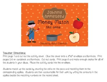 Johnny Appleseed Money Match - Like Coins