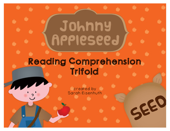 Johnny Appleseed Reading Comprehension Trifold