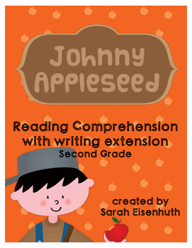 Johnny Appleseed Reading Comprehension with Writing Extens