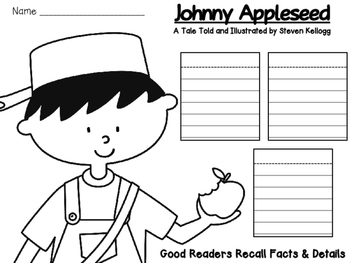 Johnny Appleseed: Recalling Facts and Details