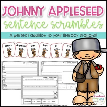 Johnny Appleseed Sentence Scrambles