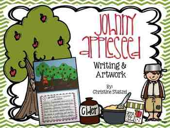 Johnny Appleseed Writing & Art Activity