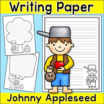 Johnny Appleseed Writing Papers - Fall Activities