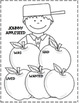 Johnny Appleseed and Apples...Activities/Crafts