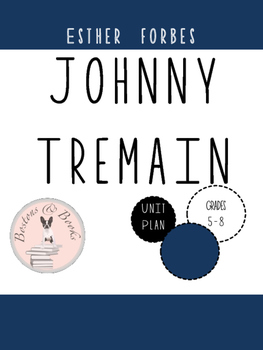 Johnny Tremain by Esther Forbes Unit Bundle