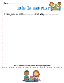 Join In and Play- Worksheet