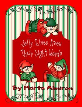 Jolly Elves Know Their Sight Words!
