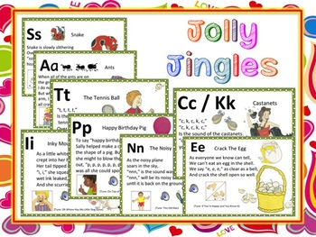 Jolly Jingles Powerpoint with Audio (Complete Set)