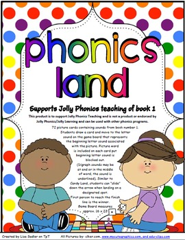 Phonics Land -  Phonics Board Games - BIG BUNDLE Groups 1 - 7