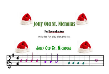 Jolly Old St. Nicholas (for Boomwhackers)