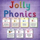 Phonics Actions Set 1 - 7 (42 letter sounds)
