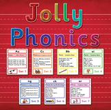 Phonics Songs Set 1 - 7 (42 letter sounds) BOARDMAKER