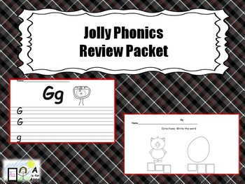 Phonics Review Packet for the Jolly Phonics Program