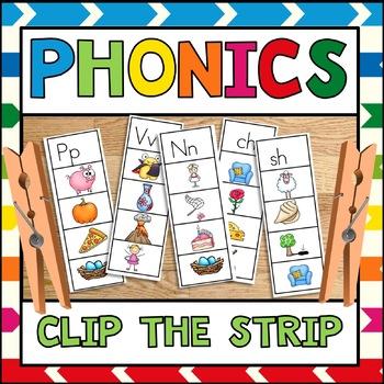 Phonics Clip the Strip Freebie