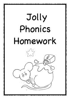Jolly phonics homework