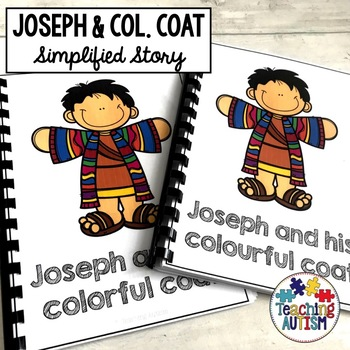 Joseph and Colorful/Colourful Coat Bible Story