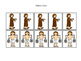 Joseph themed Pattern Cards printable game. Preschool Bibl