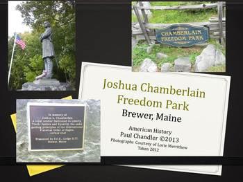 Joshua Chamberlain Freedom Park Slide Show
