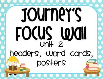 Jouney's Common Core Focus Wall Unit 2