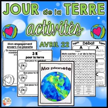 Jour de la terre  (produit en français - French Earth Day