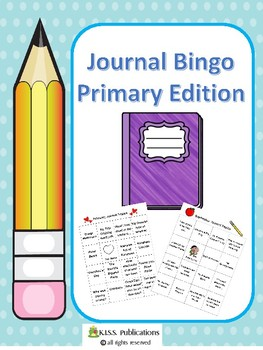 Journal Bingo Primary Level