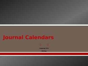 Journal Calendars