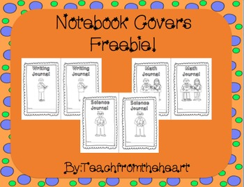 Journal Covers FREEBIE