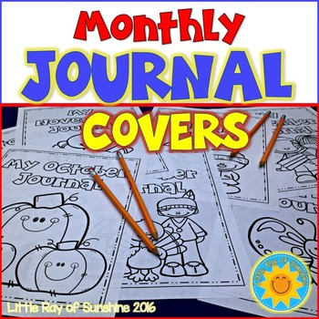 Journal Covers - Monthly