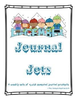Journal Jots - December