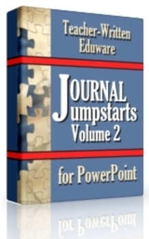 Journal Jumpstarts Volume 2, Free Version for Mac
