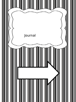 Journal Page-front cover