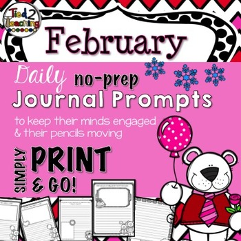 Journal Prompts - February
