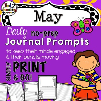 Journal Prompts - May