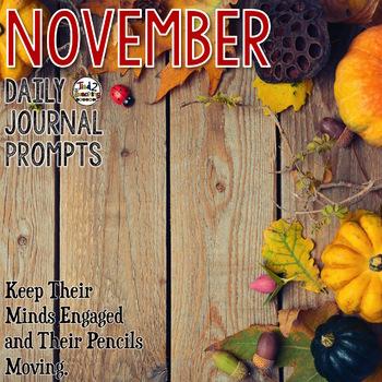 Journal Prompts - November