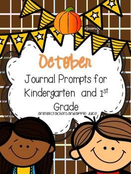 Journal Prompts: October Set