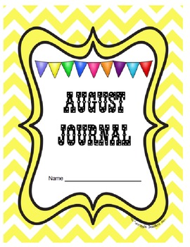 Journal Prompts Printable Notebook Aug Sept Oct Nov Dec CC