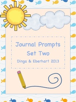 Journal Prompts - Set Two - Intermediate Grade Level - {45